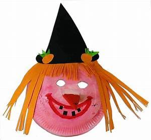 Masque Halloween A Fabriquer : bricolage d 39 un masque sorci re dent e t te modeler ~ Melissatoandfro.com Idées de Décoration