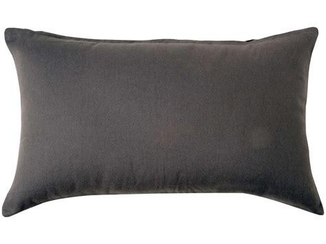 coussin 50x30 cm sara coloris gris vente de coussin et