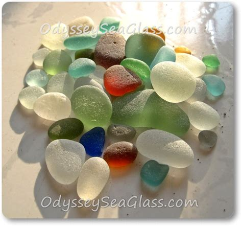 seaglass color sea glass color chart