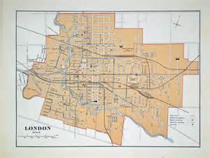 City of London Ontario Map