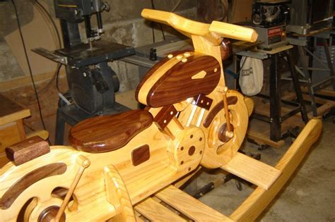 woodworking plans wooden rocking motorcycle  plans