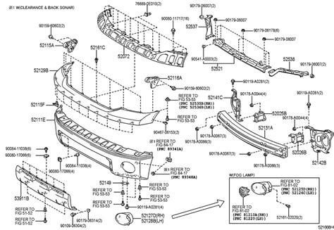 Toyota Parts Diagram by 539110c040 Toyota Panel Front Valance Panel Fr