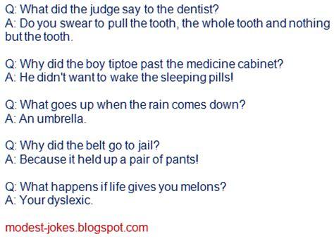 funny short dumb jokes