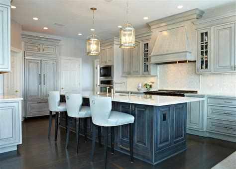distressed gray kitchen cabinets distressed kitchen cabinets contemporary kitchen