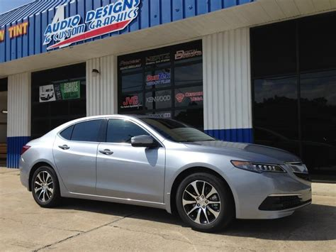 acura tlx window tint project  duval acura dealer