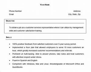 Resume Objectives 61 Free Sample Example Format
