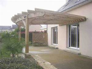 Cout D Une Pergola : terrasse bois arrondie good terrasse bois arrondie with ~ Premium-room.com Idées de Décoration