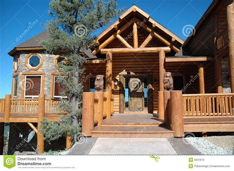 cabin styles log cabin style home royalty free stock photo image 6031875