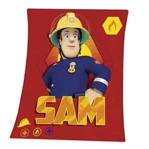 Feuerwehrmann Sam Decke : feuerwehrmann sam kinder kuscheldecke fleece decke sam 130x160cm feuerwehrmann sam wohnen ~ Buech-reservation.com Haus und Dekorationen