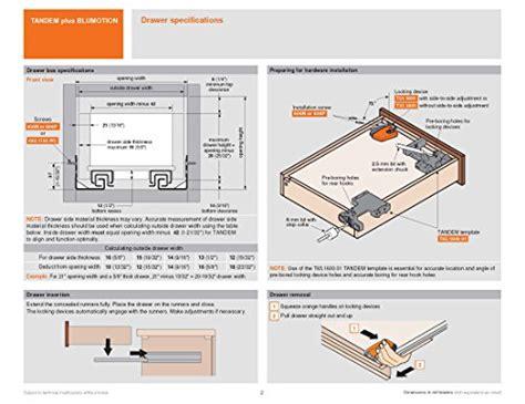 Blum 563h5330b Tandem Plus Blumotion 21