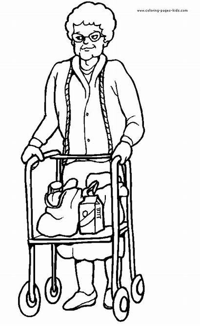 Coloring Pages Printable Disabilities Sheets Jobs Disability
