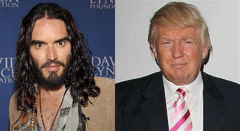 russell brand donald trump donald trump and russell brand twitter beef goes viral