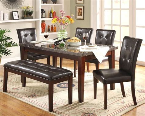 Homelegance Dining Room Dining Table 245664  One Stop