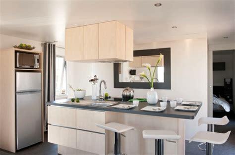ilot central cuisine design îlot central de cuisine en 30 idées originales