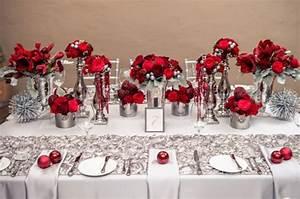 mariage rouge et argent j39ai dit oui With marvelous commentaire faire la couleur bleu 12 decoration anniversaire decoration salle anniversaire
