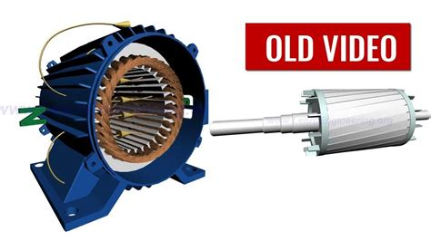 Ac Motor Electric by How Does An Induction Motor Work