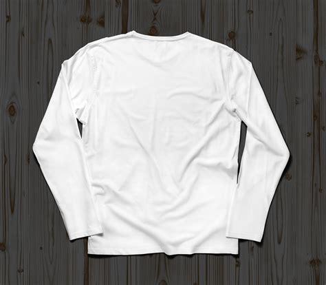 mockup t shirt free full sleeves t shirt mockup psd front back good