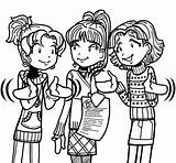Dork Diaries Chloe Pages Nikki Coloring Printable Colouring Garcia Diary Maxwell Freaked Books Clipart Popular sketch template