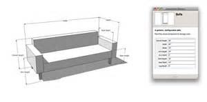 sofa 2 meter the nerdiest sofa shopping tool sketchup