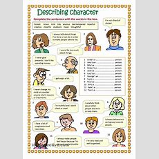 Describing Character #englishvocabulary #expressions #adjectives @english4matura  Matura Z