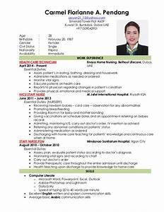 Nursing Resume New