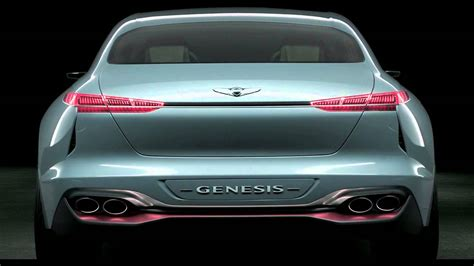 Hyundai New York by Genesis New York Concept Design 2016 G70 Hyundai
