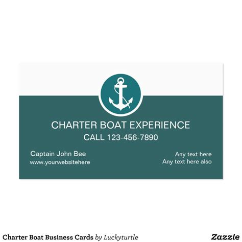 Charter Boat Business by Charter Boat Business Cards Zazzle