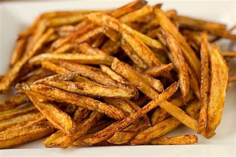 Home Made Fries easy fries brown eyed baker