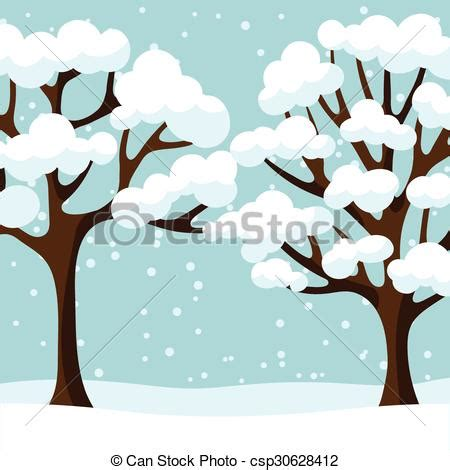 clipart alberi inverno astratto albero stilizzato disegno fondo