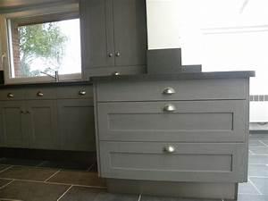 Davausnet cuisine gris fonce bois avec des idees for Idee deco cuisine avec cuisine laquée gris clair