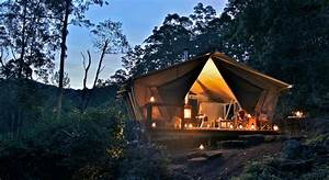 Glamping De Luxe : glamping at nightfall luxe tents romance sumptuous food ~ Zukunftsfamilie.com Idées de Décoration