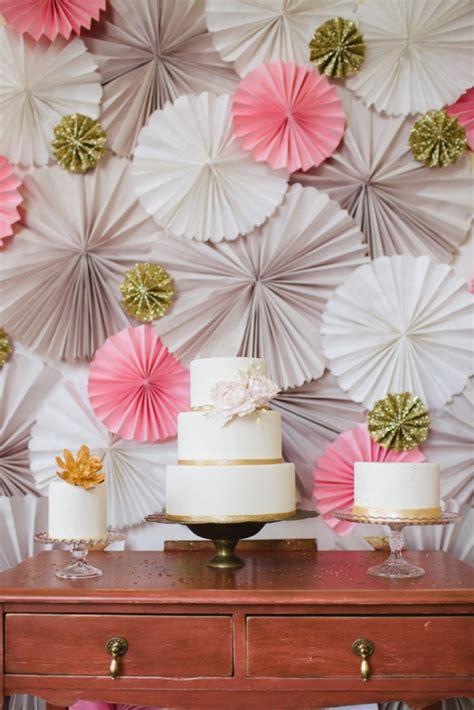 glittering pink  gold wedding inspiration
