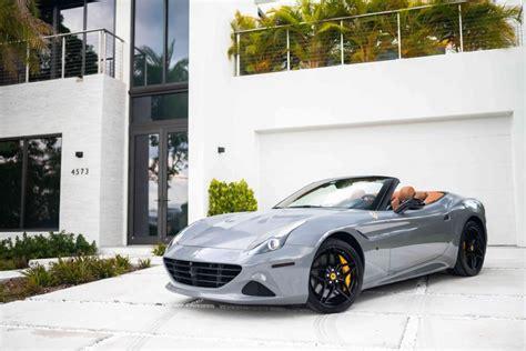 Ferrari 488 gtb/spider, ferrari 458 italia/spider, ferrari california t, ferrari gtc4lusso, ff. Ferrari California For Rent | MVP Miami Exotic Rentals