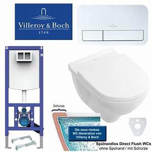 Villeroy Boch O Novo Wand Wc Mit Ceramicplus : villeroy boch o novo directflush wand wc wc sitz mit ~ A.2002-acura-tl-radio.info Haus und Dekorationen