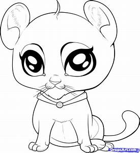 Cute Baby Animal Drawings Pencil Art Drawing