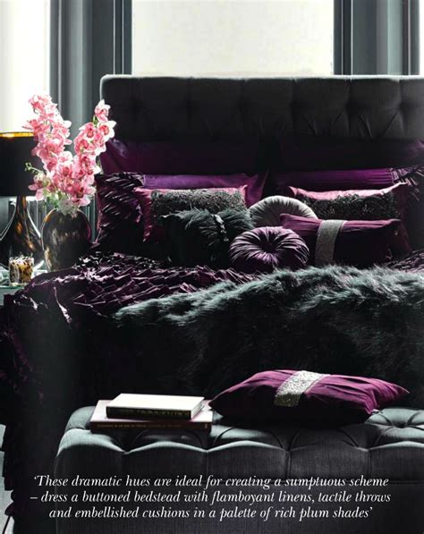 rich plum shades interiors  color