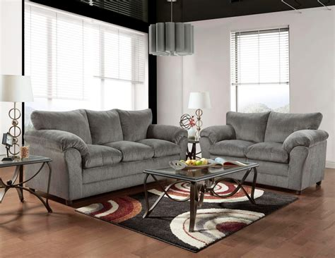 Loveseat Sofas by Grey Sofa And Loveseat Fabric Living Room Sets