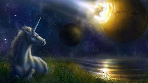 fantasy planet unicorn hd backgrounds desktop wallpapers