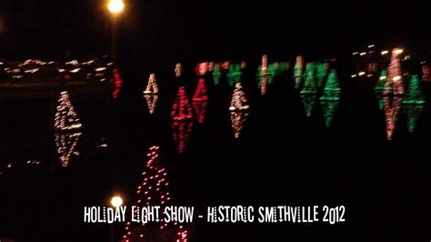 3 5 v christmas lights holiday light show in historic smithville 2012 youtube