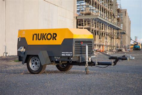 Nkc Portable Nukor Air Compressors