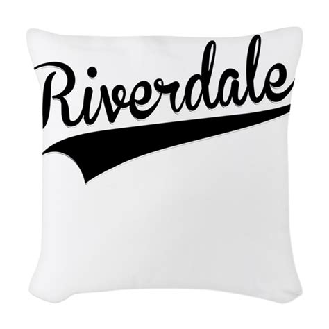 Riverdale Blanket Riverdale Retro Woven Throw Pillow By Giftmonster
