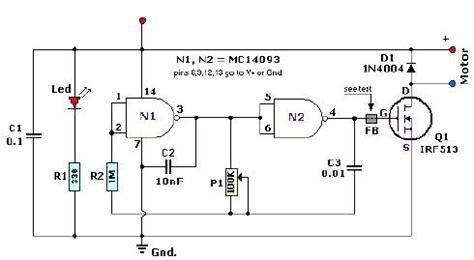 Pulse Width Modulation Controller Circuit Diagram