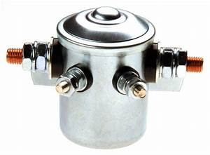 12 Volt Simple Solenoid With 150 Amp Continuous Duty