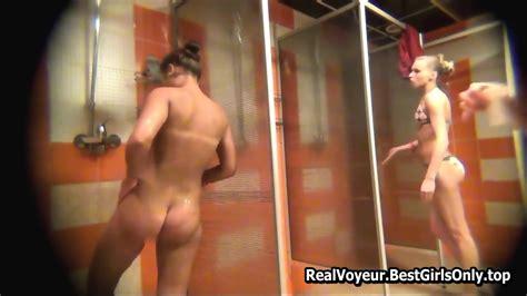 Spycam Cute Tanned Body In Gym Shower Voyeur Eporner