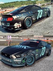 Ford Mustang Nascar Build : NFSRides