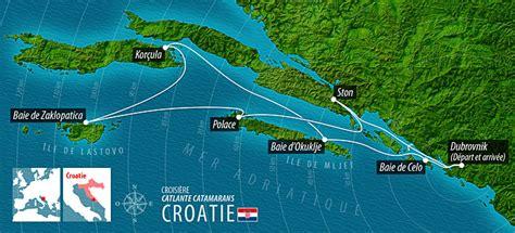 plan travail cuisine croisière en croatie en voilier catamaran lagoon 421