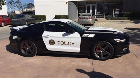 Fastest Cop Cars by California Department Gets A 730 Hp Saleen Ford