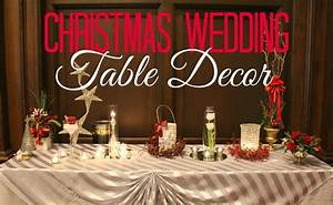 Christmas Wedding Table Decor Temple Square