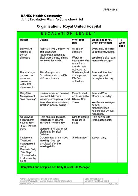 help desk escalation process 7 best images of escalation chart template escalation