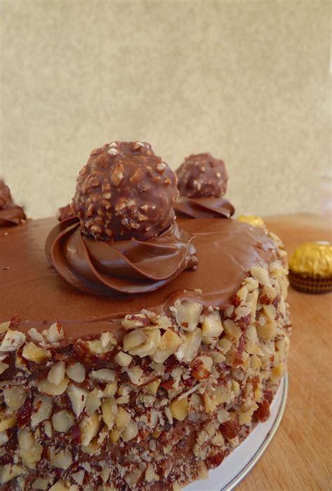 cuisine chimique ferrero rocher cake la cuisine de micheline